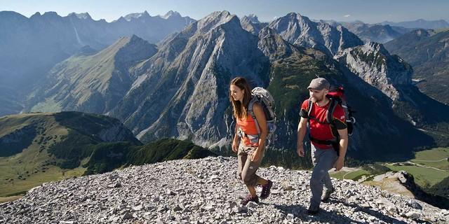 Unterwegs im Karwendel. Foto: Heinz Zack
