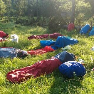 Draußen schlafen in der Natur, Foto: JDAV/Solveig Michelsen