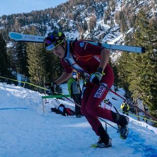 Stefan Knopf starker 5. beim ISMF Sprint Weltcup im Martelltal (ITA) - Foto: Nils Lang