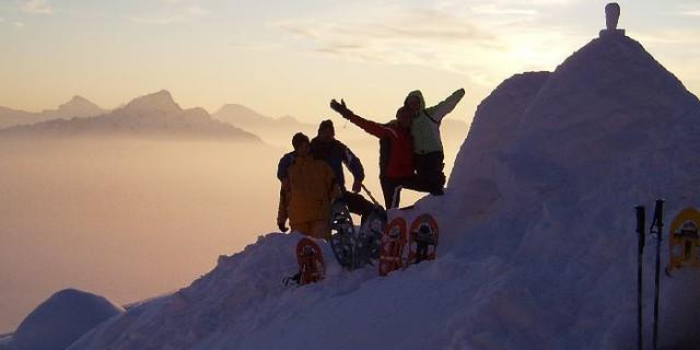 Schneeschuhtour zur Sebenalp