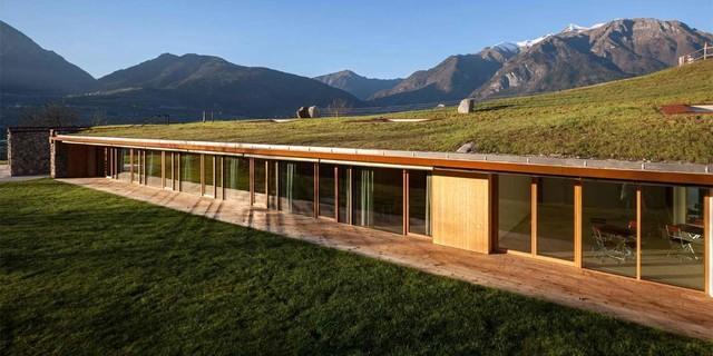 Die Casa Riga in Comano Terme (Italien), geplant vom Studio di architettura Stefania Saracino e Franco Tagliabue, Foto: Davide Cornacchini