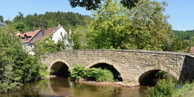 Brücke in Lauterecken, Foto: Günter Kromer