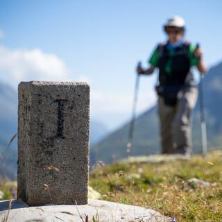 Alpenüberquerung. Foto: Nicolas Sinanis
