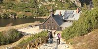 Alpenvereinshütten gibt's hier nicht – aber Bauden sind auch praktische Gebäude. Foto: Swen Geißler