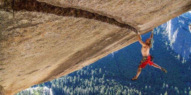 Heinz Zak, Freesolo, Separate Reality, Yosemite, USA. Foto: Heinz Zak