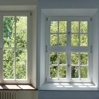 Beweissicherung Fenster. Aufnahme: Georg Müller, Feil Architekten