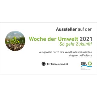 WdU 2021 Logo Schriftzug Aussteller Teilnahme mit Rahmen 150dpi