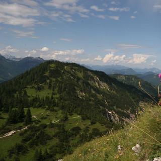 Der Schildenstein ist auch als schöner Blumenberg bekannt. Foto: M.Pröttel