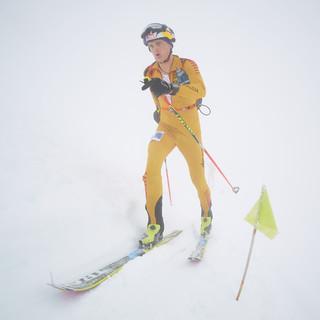 Toni Palzer auf dem Weg zu Bronze bei der WM 2017 Foto: DAV/Seebacher