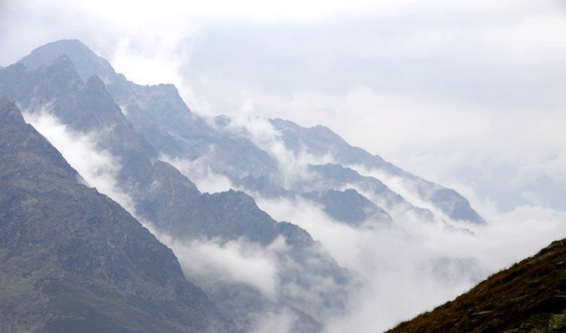 Wolkenstimmung über dem Sulztal - Foto: Mark Zahel