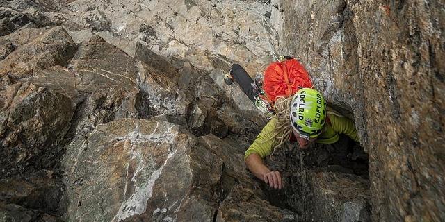 Die letzte Seillänge ist eine luftige Verschneidung (Klicken zum Vergrößern!). Foto: DAV / Silvan Metz