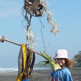 Platz 7: Strandvogelscheuche von Franziska L.