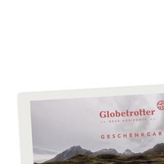 Globetrotter-Geschenkcard
