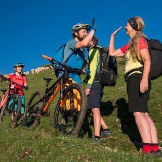 Nicht nur zwischen Bikern, auch zwischen Bikern und Wanderer muss die Chemie stimmen, Foto: Christian Pfanzelt