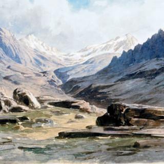 Alpines Museum Schlagintweit Gemälde