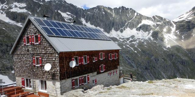 Barmer Hütte in der Rieserfernergruppe, Foto: Joachim Hütten