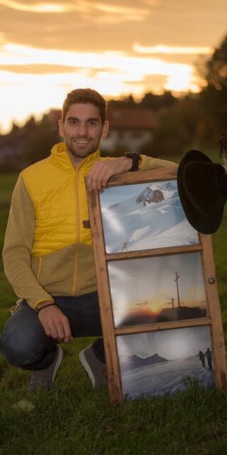 Skibergsteiger Toni Lautenbacher