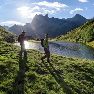 Wer umsichtig agiert, betreibt gutes Risikomanagement im Hinblick auf die alpinen Gefahren. Foto: DAV/Wolfgang Ehn