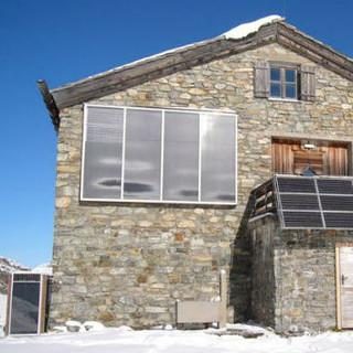 Vorbildliche Hüttentechnik für die Klostertaler Umwelthütte, Foto: Archiv DAV