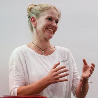 Laudatorin Dr. Antje von Dewitz, Foto: DAV/Marco Kost