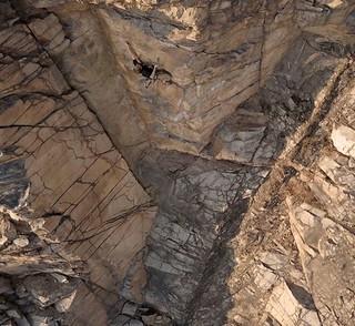 Kletterparadies am Holzberg - wie lange noch? Foto: Dr. Olaf Rieck