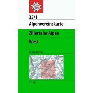 Die 2013 letztmalig aktualisierte Karte der Zillertaler Alpen (West) wird nun auf den neuesten Stand gebracht. Foto: DAV