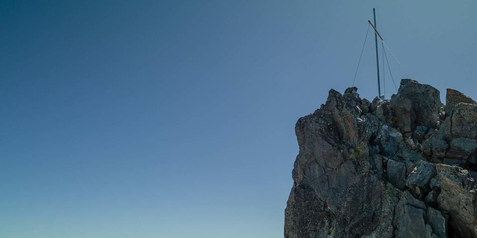 Am Hexenkopf oberhalb der Lazidbahn in Serfaus wird's plötzlich alpin. Foto: Axel Klemmer