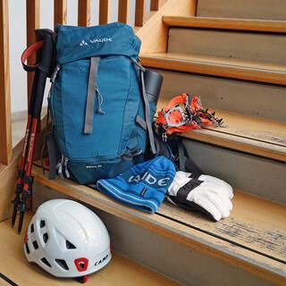 Die richtige Ausrüstung ist das A und O bei einer Bergtour – nicht nur im Winter! Foto: Franziska Simon/Anika Biedermann