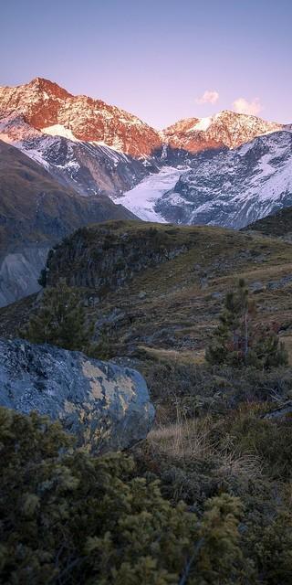 Der Kaunergrat in den Ötztaler Alpen dient als Ausbildungsort. Foto: Silvan Metz