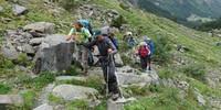 Im Team erfolgreich über Stock und Stein. Foto: Sascha Mache