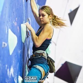 Sofie Paulus überzeugte mit einem starken Auftritt. Foto: DAV/Vertical-Axis