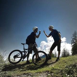 Wem gehört der Berg? Wanderer vs. Mountainbiker, Foto: I. Hayek