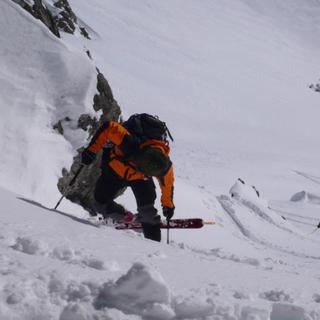 Spitzkehren, Dremelscharte, Lechtaler Alpen, Tirol, Oesterreich