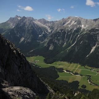 Das Wochenende verspricht auch im Wetterstein gute Tourenverhältnisse. Foto Pröttel
