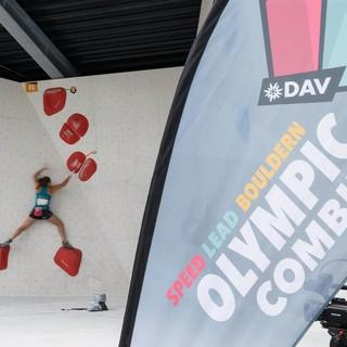 Bouldern bei der ersten DM Olympic Combined 2018, Foto: DAV/Marco Kost