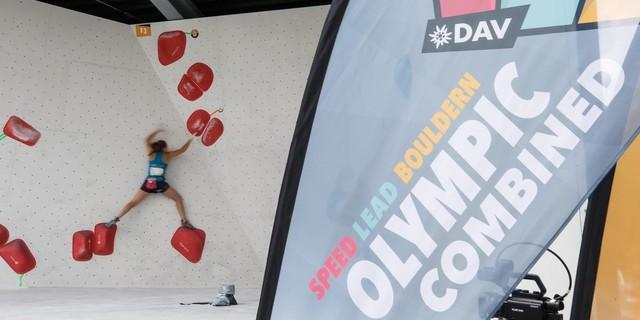 Ein spannender Dreikampf erwartet das Publikum vor Ort und an den Bildschirmen. Foto: DAV/Marco Kost
