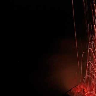 Wandern mit Knalleffekten auf Stromboli.