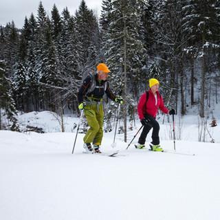 Verena Bentele: Die erste Skitour ihres Lebens