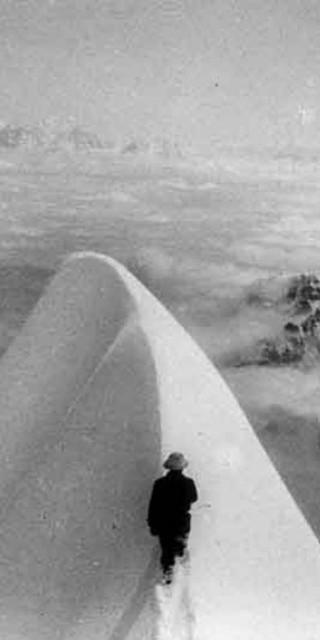 Karl Wien am Schneefirst (7.275 m) am 14. September 1931