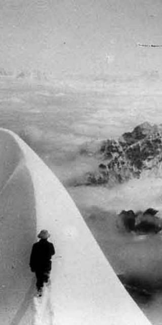Karl Wien am Schneefirst (7275 m) am 14. September 1931
