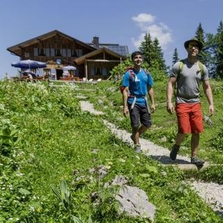 Hüttenwanderungen erfreuen sich größter Beliebtheit. Foto: DAV/Hans Herbig