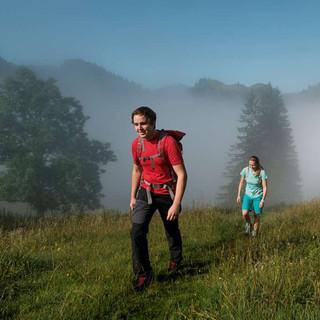 Wandern mit Abstand, Foto: DAV/Hans Herbig