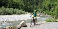 Etappe 1: Radweg entlang der Bregenzer Ach.