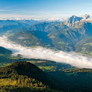 Tennengebirge-Blick