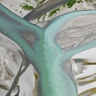 Der Tagliamento - der bedeutendste Wildfluss der Alpen. Foto: Bernhard Edmaier