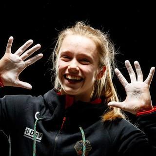 Holt sich den Europameistertitel in der weiblichen Jugend B: Nuria Brockfeld; Foto: Marco Kost