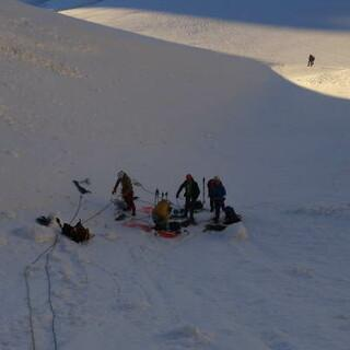 Sichtungscamp Chamonix