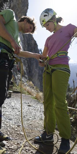 Auch beim Klettern darf und sollte auf Missstände hingewiesen werden. Foto: DAV/Wolfgang Ehn