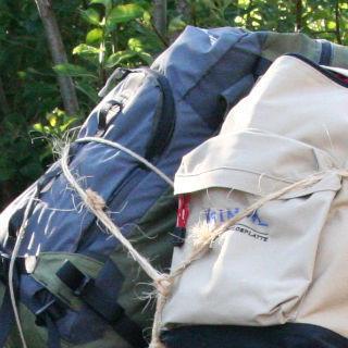 Rucksäcke, Gepäck