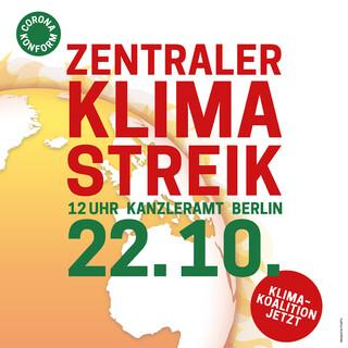 Aufruf zum Klimastreik, Illu: Klimastreik Bündnis